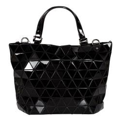 Malique Geometrical handtas zwart glanzend 1006 - 4001259