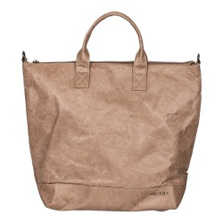 Malique Waxed Paperbag shopper taupe 1055 - 4001440