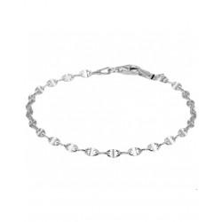 Zilveren enkelband anker 13.28285 - 4000720