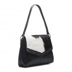 Chabo bags Susy Studs big handtas Black cow skin 81000 - 4001000