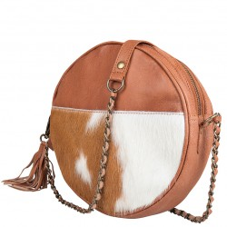 Chabo bags Circle handtas Camel cow 41000 - 4001001