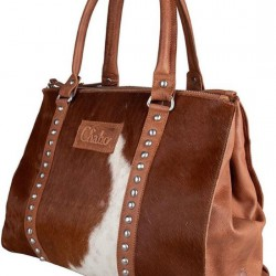 Chabo bags Kit's classic handtas cow camel 7000 - 4001002