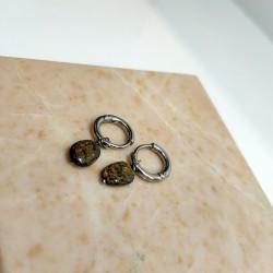 SALE My Jewellery - Staal & edelsteen, creool - 4001466