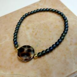 SALE Azibi-Ibiza armband- schelp - 4001470