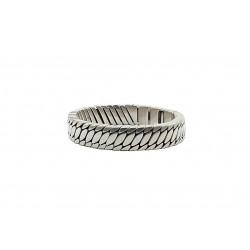 Josh heren armband, Stalen visgraat, L - 4002399