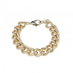 Camps & Camps armband - Sating gold gourmet chain - 4001707