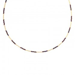 Biba - Collier 60504mix07, paars summer - 4001966