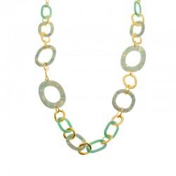 Biba - Collier 60836mix05 blue/gold - 4002024
