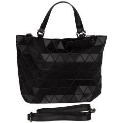Malique Geometrical handtas mat zwart 854 - 4001261