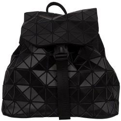 Malique Geometrical rugtas mat zwart 855 - 4001435