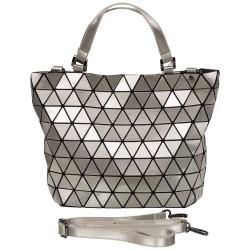 Malique Geometrical handtas zilver 859 - 4001215
