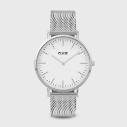 CLuse Boho Chic Mesh, Silver, White/Silver CW0101201002 - 4002708