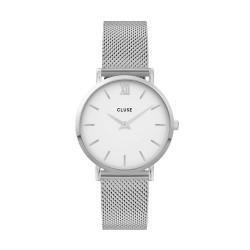Cluse CW0101203002, Minuit Mesh White, Silver - 4001943
