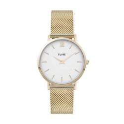 Cluse Minuit Mesh, Gold, White/Gold CW0101203007 - 4002706