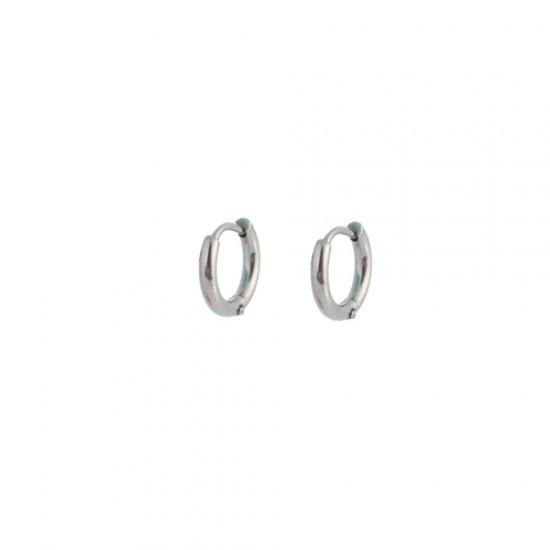 GoDutchLabel E9824-1 - Oorsieraad staal, creool - 4001304