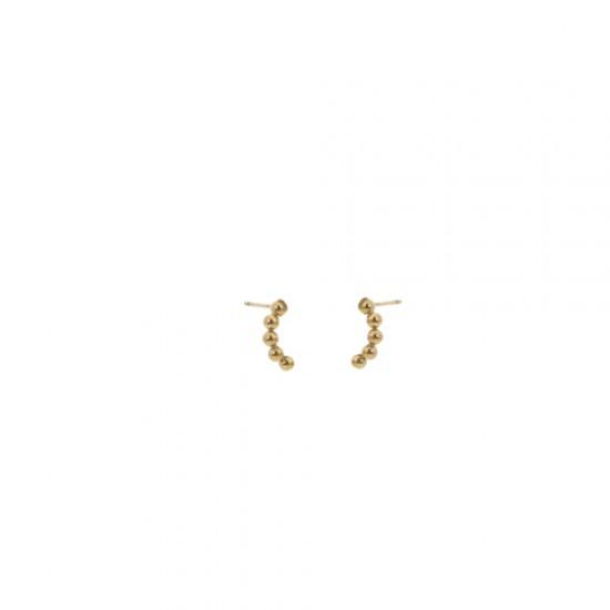 GoDutchLabel E9895-2 - Oorsieraad double, oorsteker - 4001275