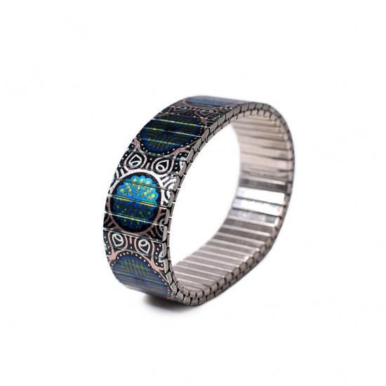 Banded Amsterdam armband Regular, Flor de Cobre, maat S - 4001733