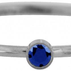 Charmins kinderring Sparkling darl blue KR83 maat 14 - 4001933