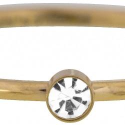 Charmins kinderring Little shine goudkleurig KR88 maat 15 - 4001885