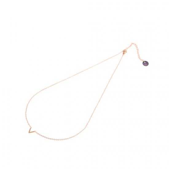 GoDutchLabel N7073-2 - Stainless steel doublé, Ketting - 4001414