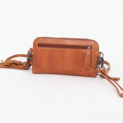 BAG2BAG - New Jackson Cognac B2B-344, schoudertas/clutch - 4001494