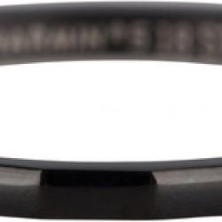 Charmins ring black steel angle maat 19 R363 - 4002157