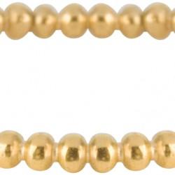 Charmins kinderring Bubbling goudkleurig R509 maat 15 - 4001882