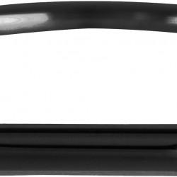 Charmins ring black steel tube maat 19 R523 - 4002155
