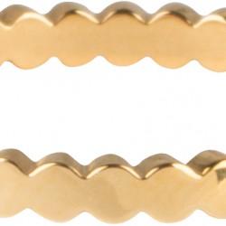 Charmins ring Goud staal Basic crown maat 17 R701 - 4001603